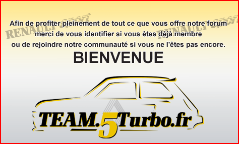 distribution 5 Turbo et 5 alpine turbo  ARRIV
